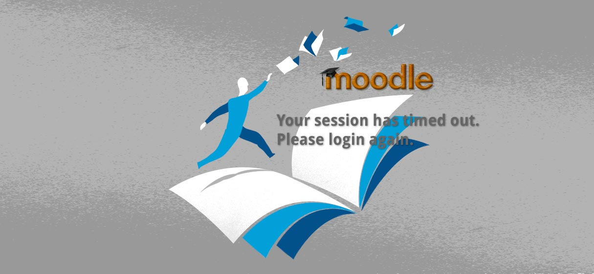 Moodle session time out