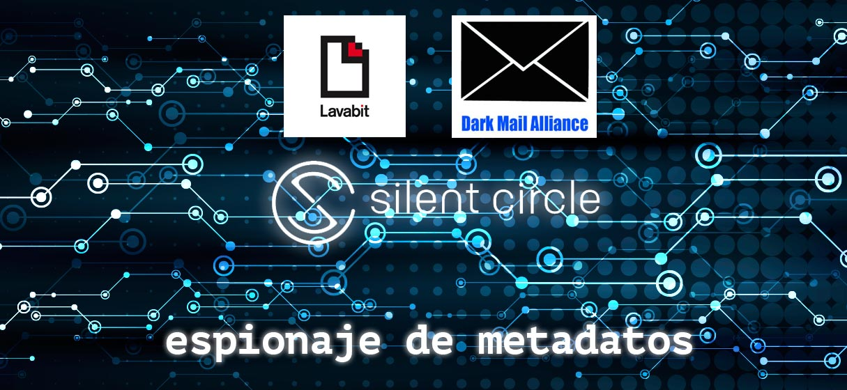 Espionaje de metadatos · Dark Mail Alliance