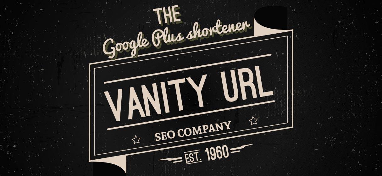 Google Plus — vanity url