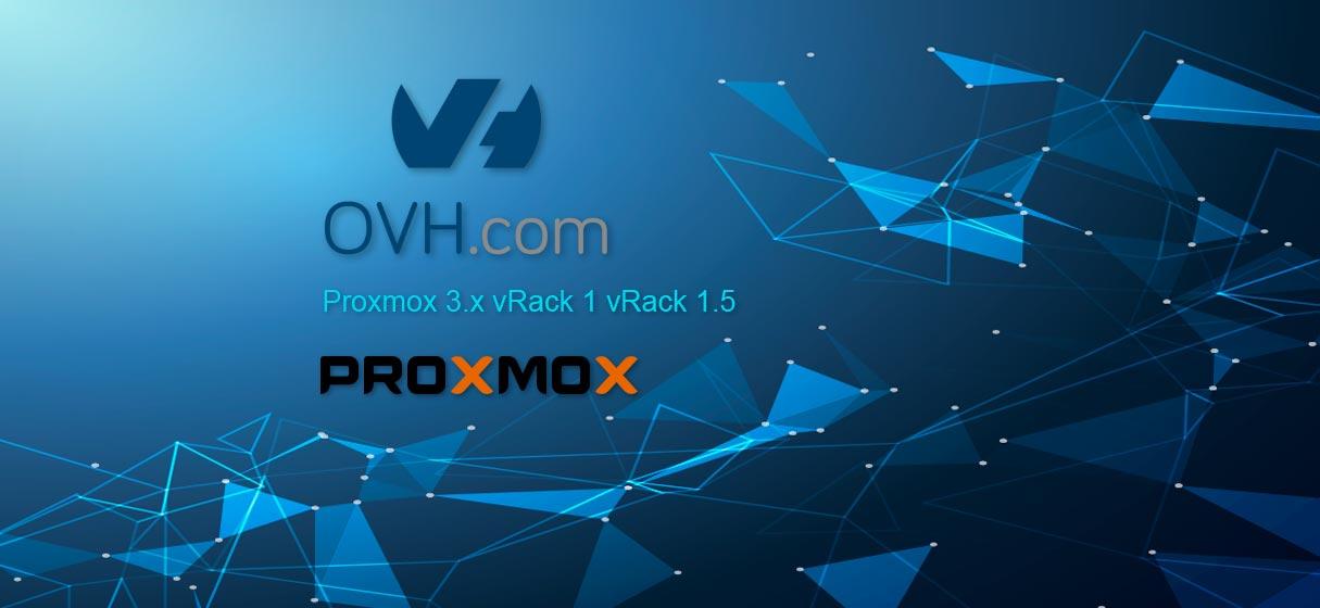 Ovh Proxmox vRack