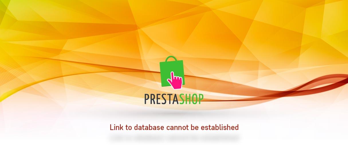 Prestashop link database