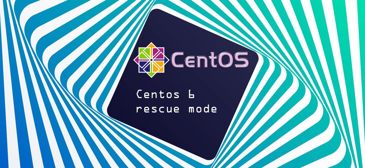 Sistema CentOs 6 con rescue